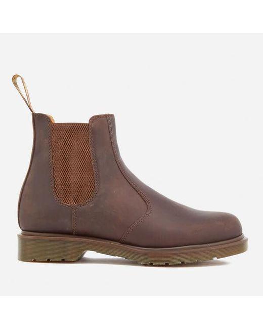 Dr. Martens | Brown Men's Core 2976 Leather Chelsea Boots for Men | Lyst