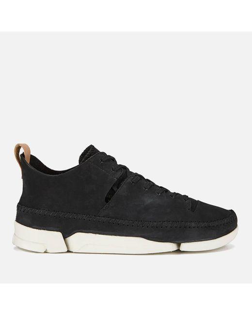 Clarks - Black Trigenic Flex Shoes for Men - Lyst