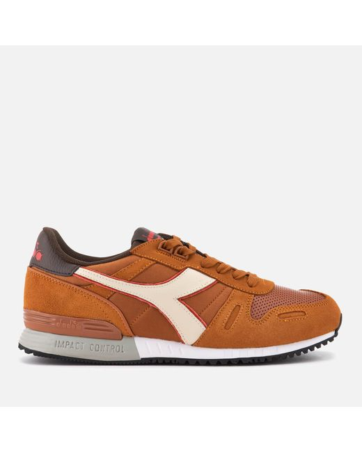 Diadora - Brown Titan Ii Winter Pack Trainers for Men - Lyst