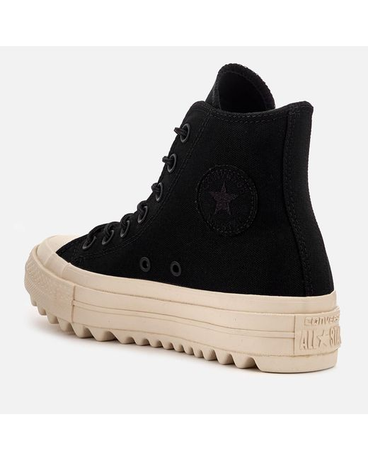Lyst - Converse Chuck Taylor All Star Lift Ripple Hi-top . dc2f501a9