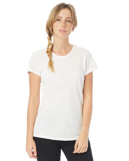 Alternative Apparel - Black Keepsake Vintage Jersey T-shirt - Lyst