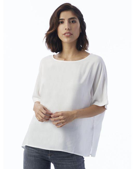 Alternative Apparel - White Rayon Challis Boxy T-shirt - Lyst