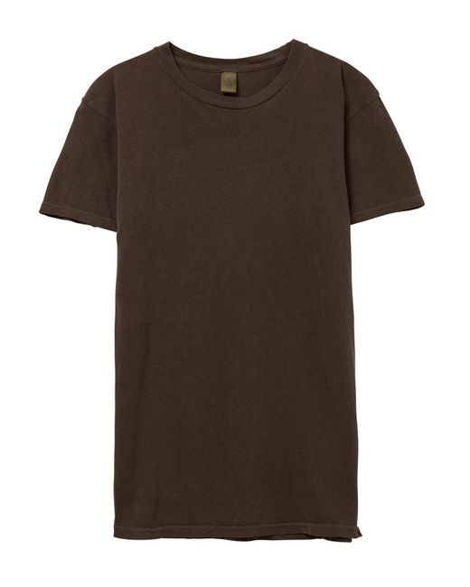 Alternative Apparel | Brown Basic Pigment Dyed Crew T-shirt for Men | Lyst