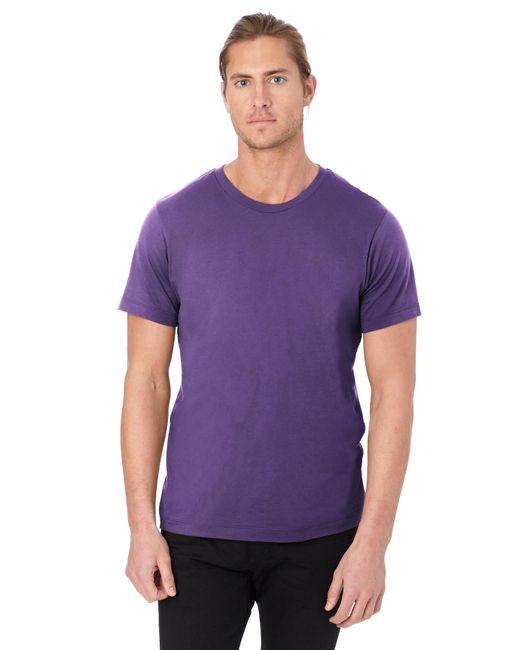 Alternative Apparel - Purple Basic Mens Crew T-shirt for Men - Lyst