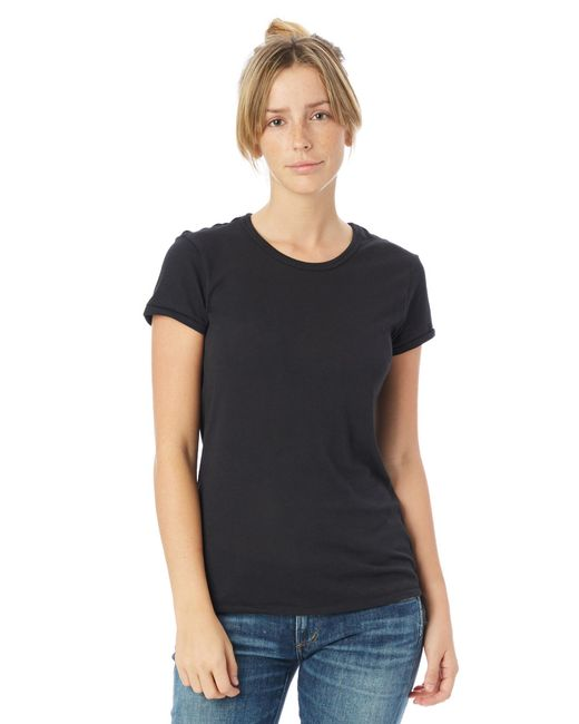Alternative Apparel - Black Keepsake Vintage Jersey T-shirt - Lyst