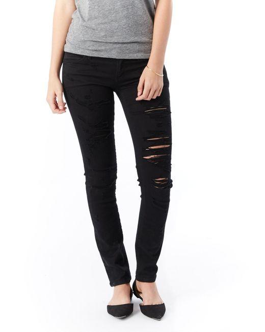 Alternative Apparel - Black Agolde Chloe Low Rise Slim Jeans - Lyst