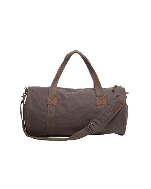 Alternative Apparel | Gray Basic Cotton Barrel Duffel Bag for Men | Lyst