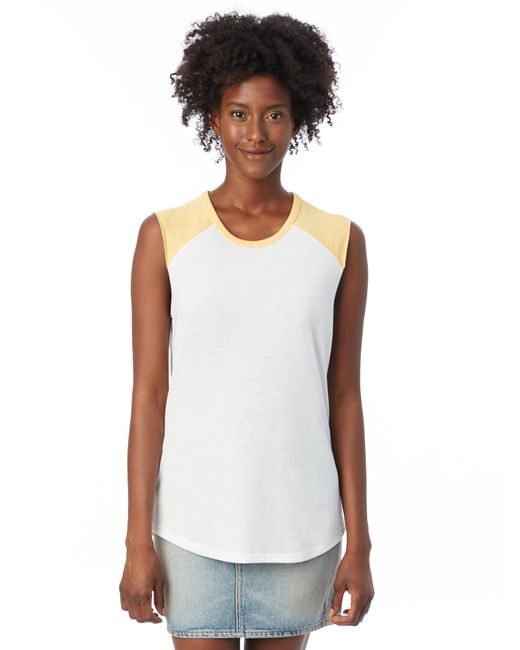Alternative Apparel - White Team Player Vintage Jersey Tank Top - Lyst