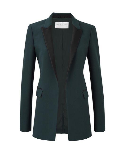 Amanda Wakeley | Black Kashino Raven Tux Jacket | Lyst