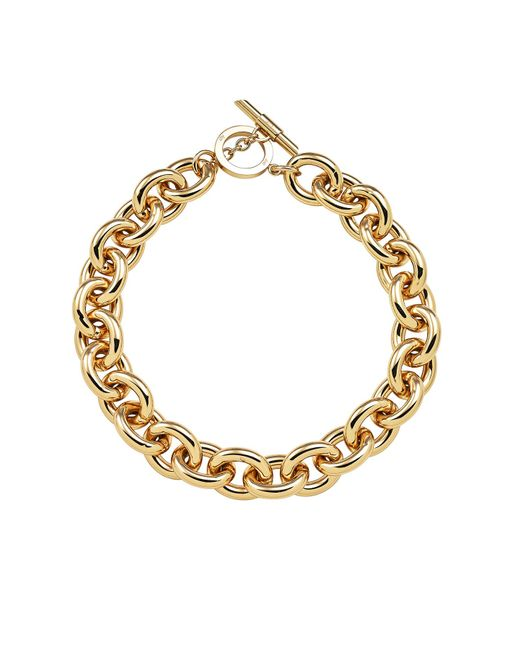 Amanda Wakeley | Metallic Chunky Gold Necklace | Lyst