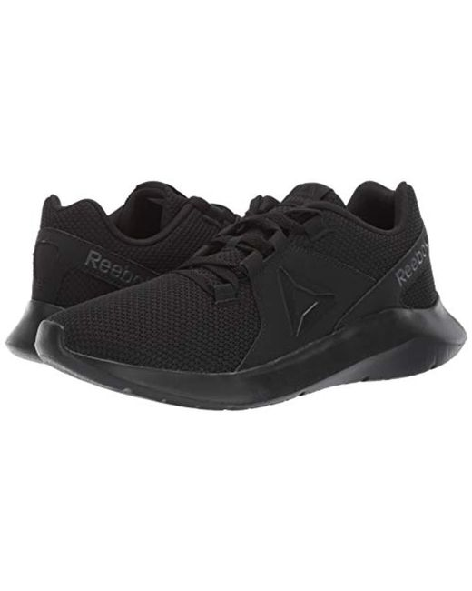 ae303a41acf ... Reebok - Black Energylux Running Shoe for Men - Lyst ...