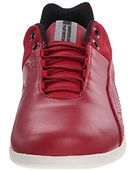 9e41367da1a3 ... PUMA - Red Future Cat Ferrari 10 Lace-up Fashion Sneaker for Men - Lyst  ...