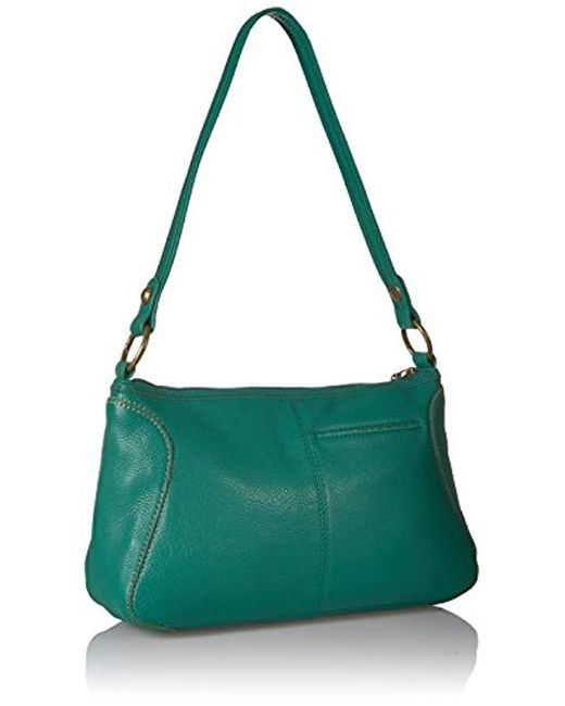 Lyst - The Sak Iris Small Hobo in Green - Save 17% 28654be29a03f