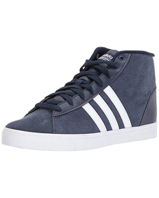 best service 9d48d 5bf3d Adidas - Blue Cf Daily Qt Mid W Sneaker, Black white super Pink ...
