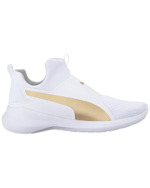 2d08507004f0 Lyst - PUMA Rebel Mid Wns Cross-trainer Shoe in White - Save 40%