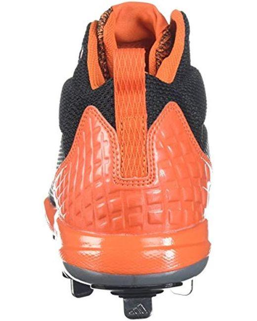huge discount 25c83 4d8b9 ... Adidas - Multicolor Freak X Carbon Mid Baseball Shoe, Core Black,  Silver Met, ...
