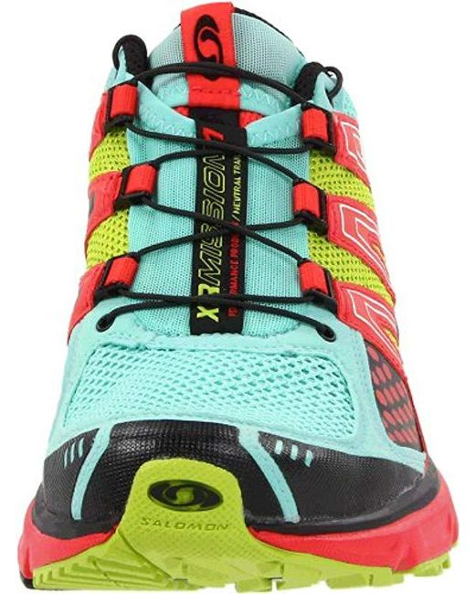 5cbe5d54a8b9 Lyst - Yves Salomon Xr Mission Running Shoe in Green - Save 17%