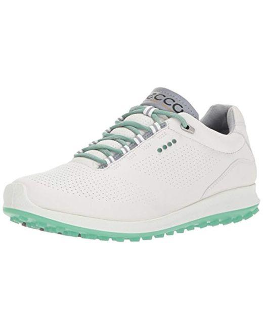 Ecco - White Biom Hybrid 2 Perforated Golf Shoe - Lyst