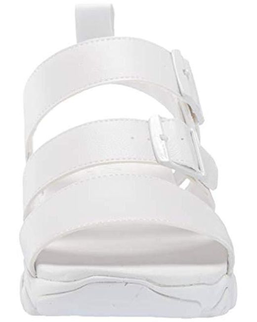 5535ade8282 ... Skechers - White D lites 2.0-cool Cosmos-triple Band Sling Back Sport  ...