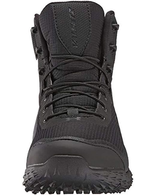 a91b6497a37ade ... Under Armour - Black Valsetz Rts Side Zip Military And Tactical Boot  for Men - Lyst ...