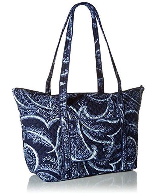 ... Vera Bradley - Blue Iconic Miller Travel Bag 653c4b301f4fa