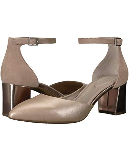 1162a04a88f0 Lyst - Rockport Total Motion Salima 2 Piece Pump in Brown - Save 43%