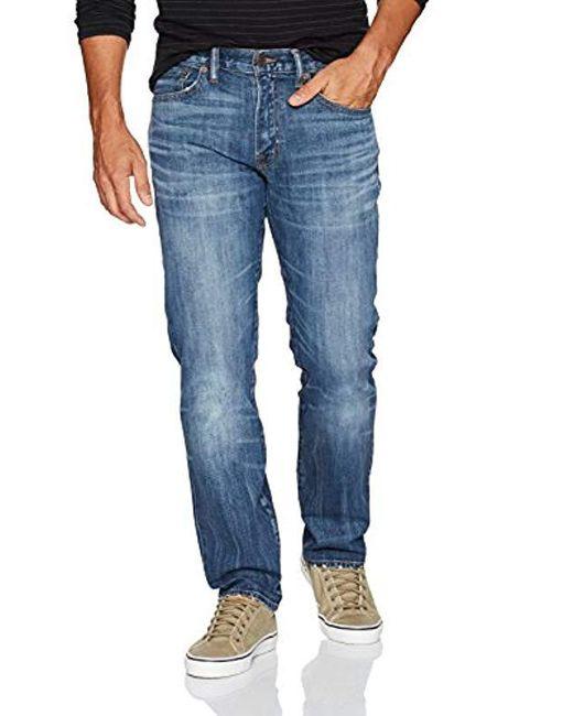 Lucky Brand - Blue 121 Heritage Slim In Encinitas, for Men - Lyst