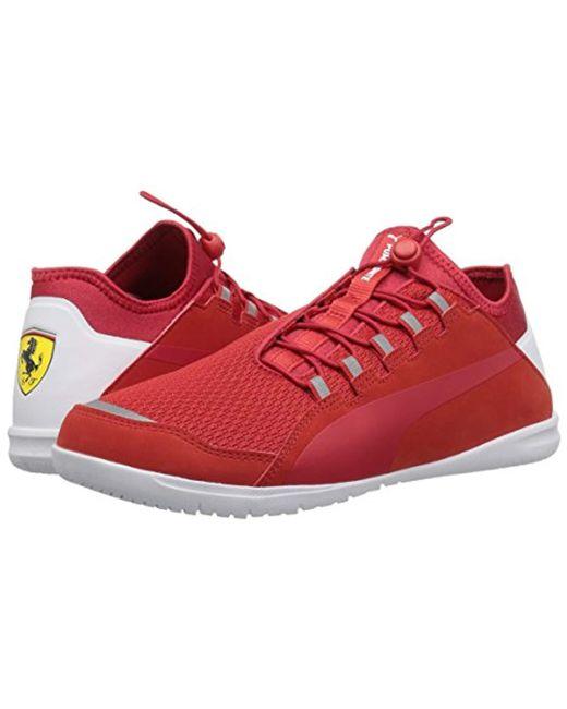 a20c5ec4903445 ... PUMA - Red Ferrari F Cat Ignite Sneaker for Men - Lyst ...