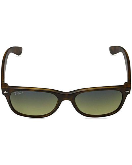 d771fed2e7 ... Ray-Ban - Multicolor Rb2132 New Wayfarer Polarized Sunglasses for Men -  Lyst ...
