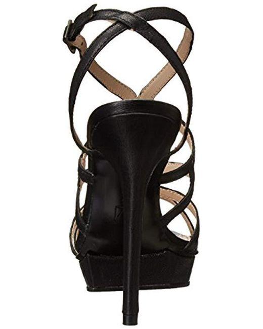 f15f3365f4e Lyst - Pelle Moda Farah2 Np Dress Sandal in Black - Save ...