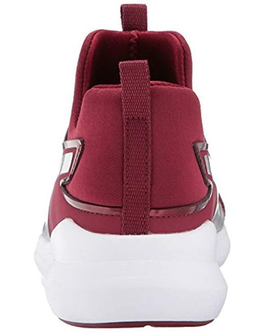 b451e85fd25c Lyst - PUMA Rebel Mid Wns Velvet Rope Bl Sneaker in Red - Save 39%