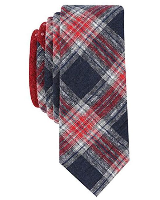 Original Penguin - Blue Master Plaid Tie for Men - Lyst