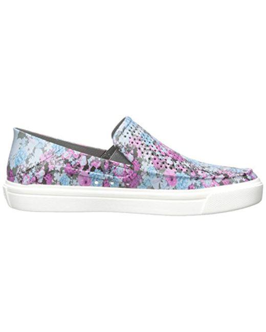 532c014696 ... Crocs™ - Multicolor Citilane Roka Graphic Slipon W Flat - Lyst ...