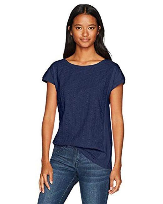 U.S. POLO ASSN. - Blue Short Sleeve Crew Neck T-shirt - Lyst