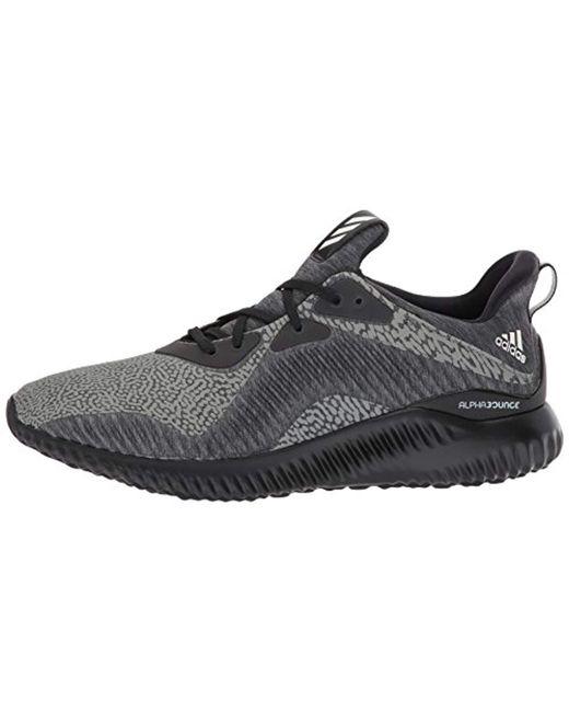05bffea62bfc5 ... Adidas - Black Alphabounce Hpc Ams M Running Shoe for Men - Lyst ...