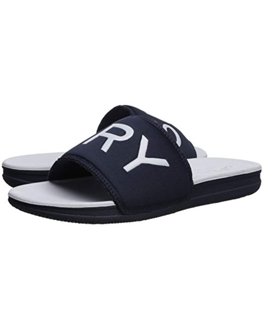 3f65a7daa Lyst - Sperry Top-Sider Intrepid Slide Sandal in Blue for Men - Save 15%