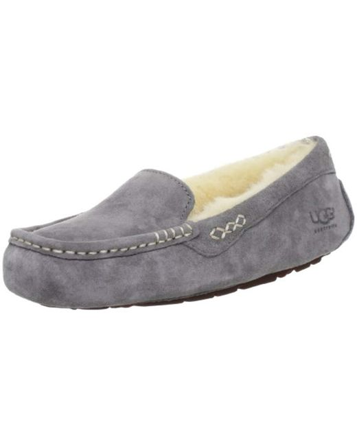 Ugg - Gray Ansley Moccasin - Lyst