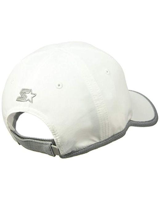 ... Starter - White Lightweight Performance Running Cap 126c5637527