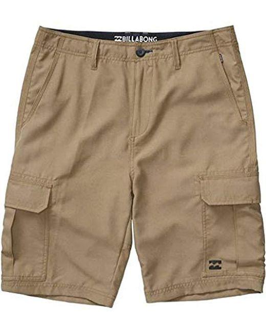 Billabong - Natural Scheme Submersibles Shorts for Men - Lyst