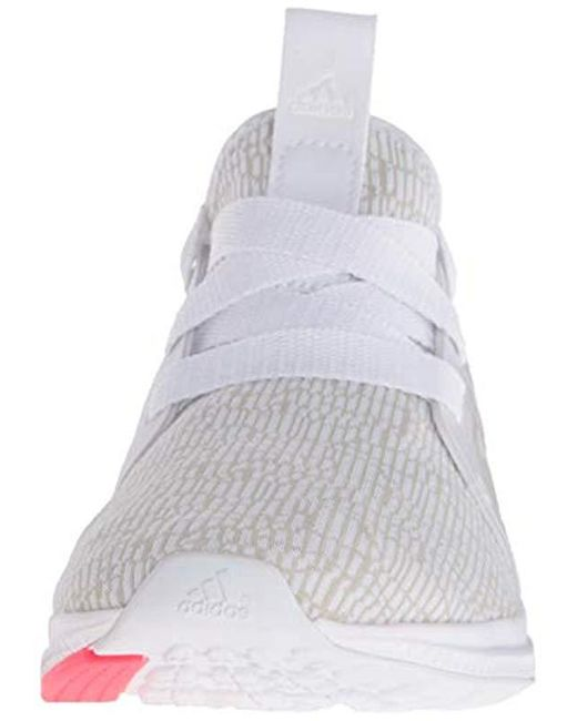 Lyst - adidas Edge Lux W Running Shoe Crystal White-shock Red 03d09eae3