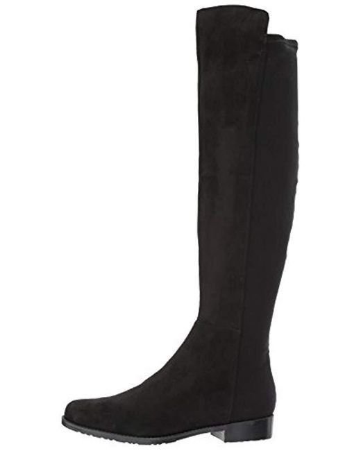 5a12d59b951 ... Marc Fisher - Black Monica Over The Over The Knee Boot - Lyst ...