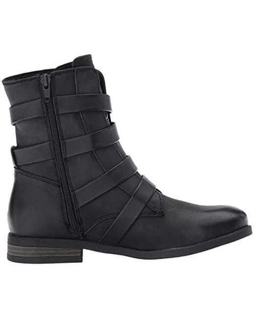 1bcdc61626a4 Lyst - Roxy Reyes Motorcycle Boot in Black - Save 24%