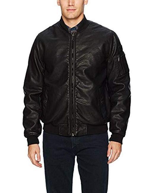 Ben Sherman - Black Classic Bomber Jacket for Men - Lyst