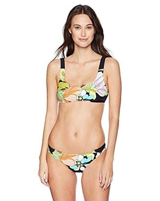 229dc24469c36 ... Trina Turk - Black Bouquet Floral Bikini Swimsuit Separates (mix   Match  Tops   Bottoms