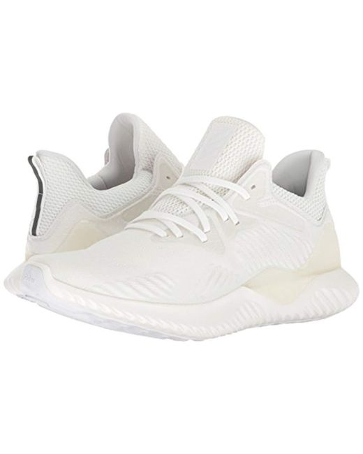 outlet store 9048f c3fdb ... Adidas Originals - White Alphabounce Beyond Running Shoe for Men - Lyst  ...