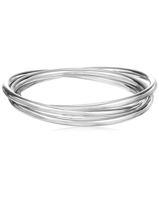 Kenneth Cole - Metallic Meridian Ombre Interlinked Bangle Bracelet - Lyst