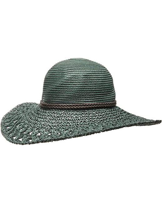 O'neill Sportswear - Green Brightside Floppy Straw Hat - Lyst