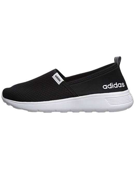 ... Adidas - Black Neo Lite Racer Slip On W Casual Sneaker - Lyst ... e8a729473