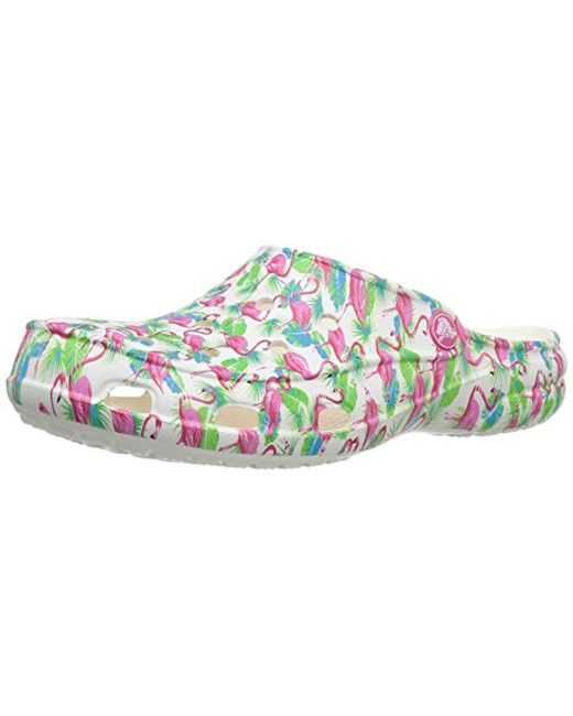 Crocs™ - Multicolor Freesail Flamingo Graphic Clog, Casual Comfort Mule , Lightweight Water Shoe - Lyst