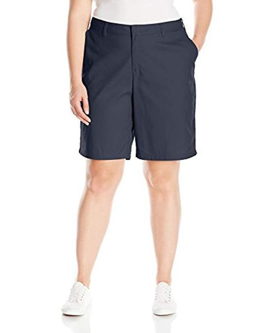 Dickies - Blue Size Relaxed Fit 9 Inch Flat Front Short Plus for Men - Lyst